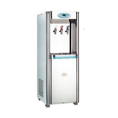 Máy lọc nước nóng lạnh công nghiệp 3 vòi tích hợp bộ lọc Huyndai waco WD-02 RO